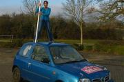 Hillingdon couple off to Russia in a clapped-out Nissan Micra for the Mongol Rally